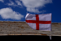 Susan Guy_Stoneywell_Car Park_Shelter_St George Flag_23.04.16_1 w