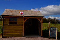 Susan Guy_Stoneywell_Car Park_Shelter_St George Flag_23.04.16_2 w